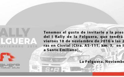 Presentación I Rally de la Felguera