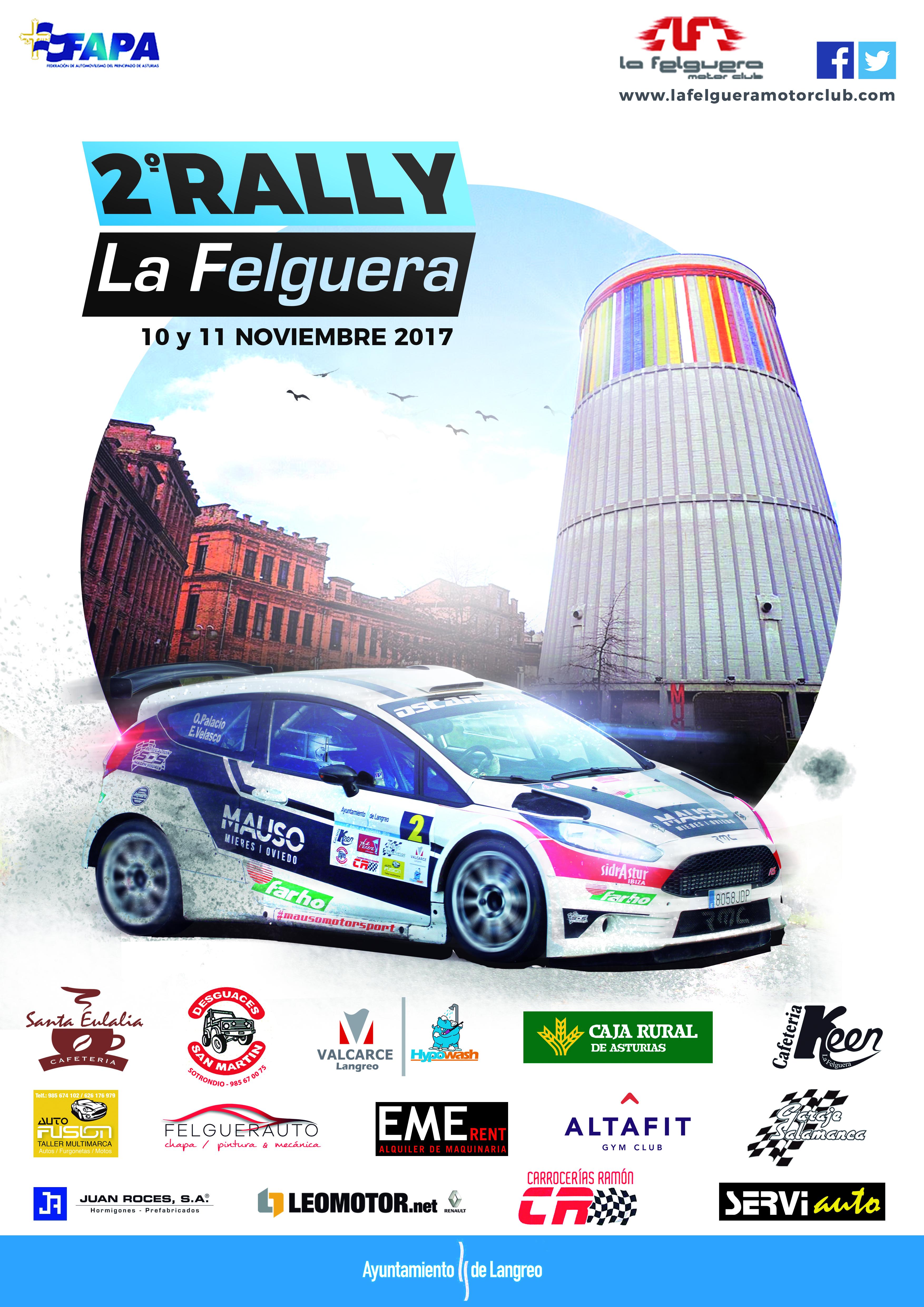Campeonatos Regionales 2017: Información y novedades 2rally-la-felguera-2017