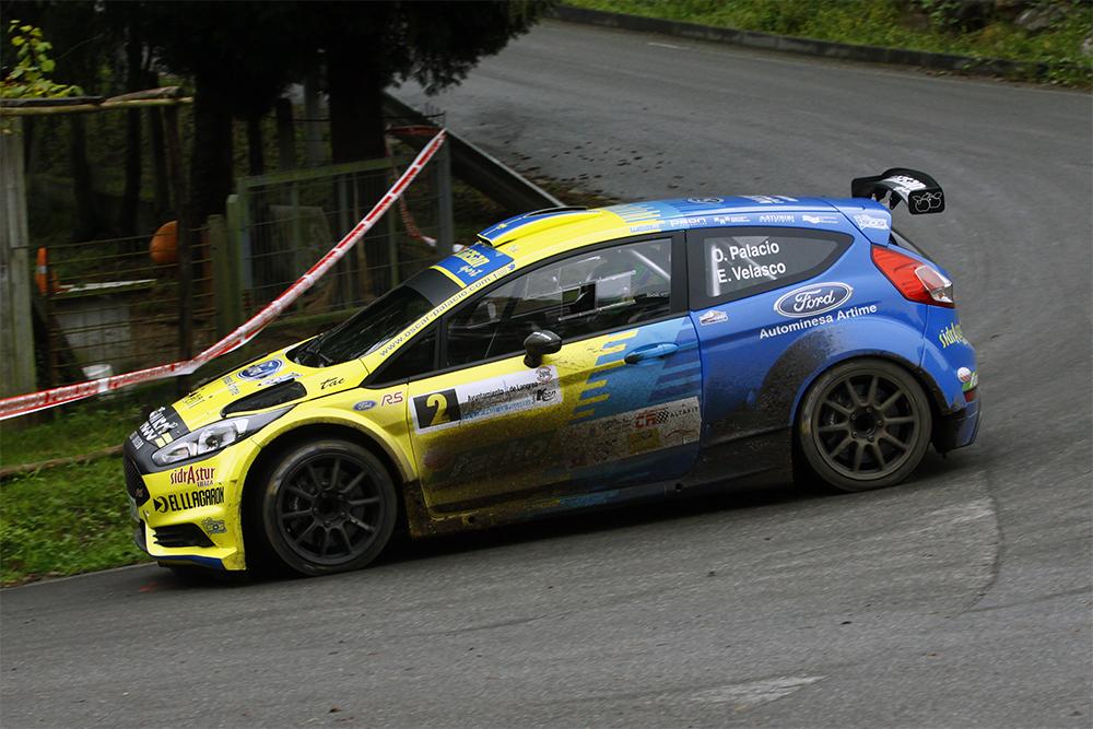 Óscar Palacio y Kike Velasco vencen en el 2º Rallye de La Felguera